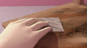 đánh giấy giáp bề mặt đồ gỗ nội thất