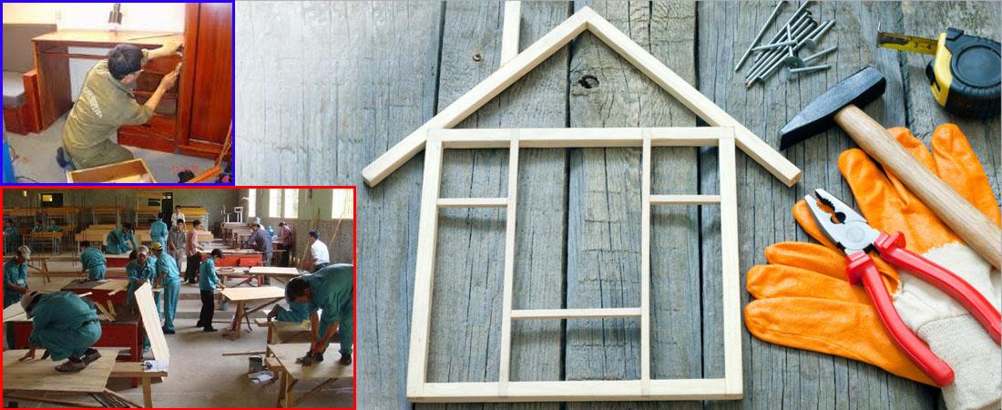 Thợ sửa đồ gỗ