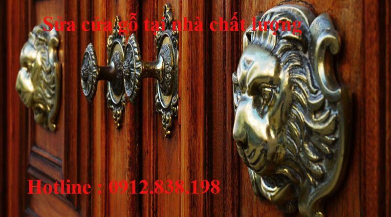 sửa cửa gỗ tại nhà uy tín chuyên nghiệp