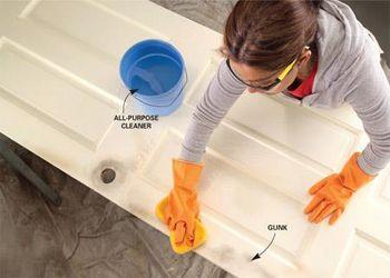 Làm sạch bụi bẩn