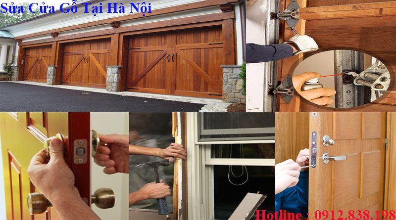 Sửa cửa gỗ tại hà nội chuyên nghiệp