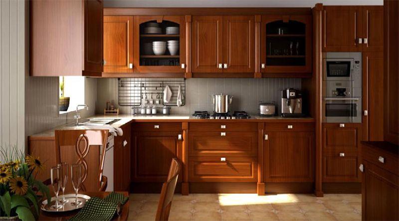 sửa tủ gỗ nhà bếp