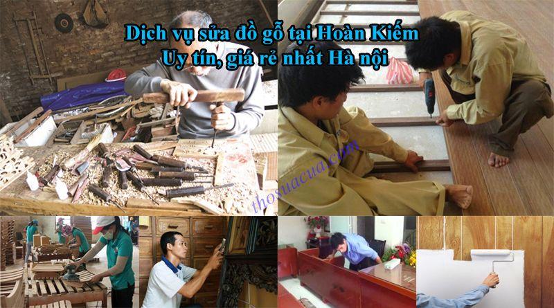 Sửa chữa đồ gỗ tại Hoàn Kiếm chuyên nghiệp