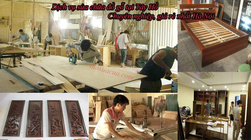 Sửa chữa đồ gỗ tại Tây Hồ chuyên nghiệp