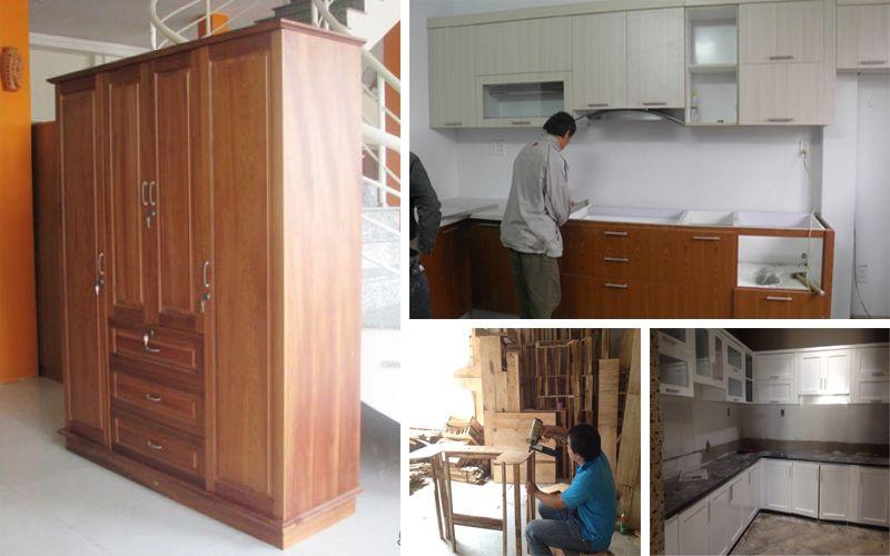 Sửa chữa đồ gỗ tại Hà Đông