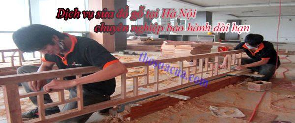 sửa đồ gỗ tại hà nội uy tín