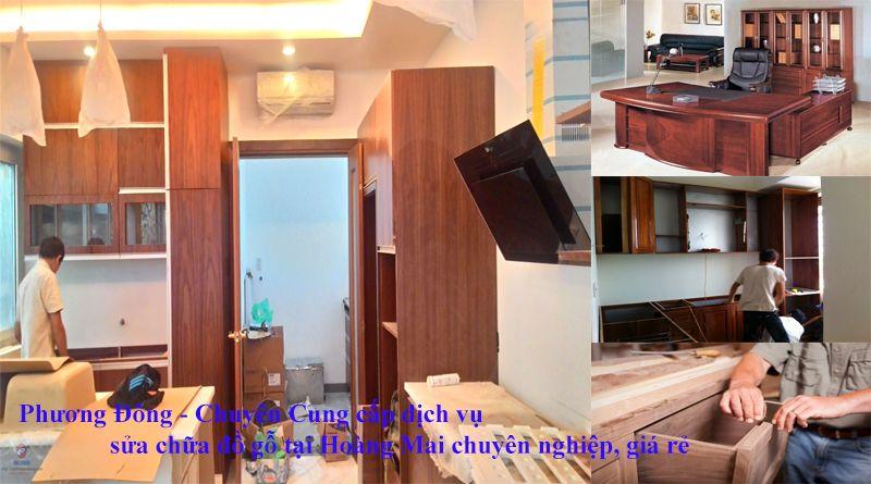 sửa chữa đồ gỗ tại Hoàng Mai