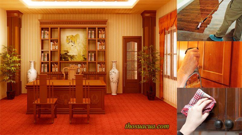 Cách bảo dưỡng đồ gỗ nội thất của các chuyên gia