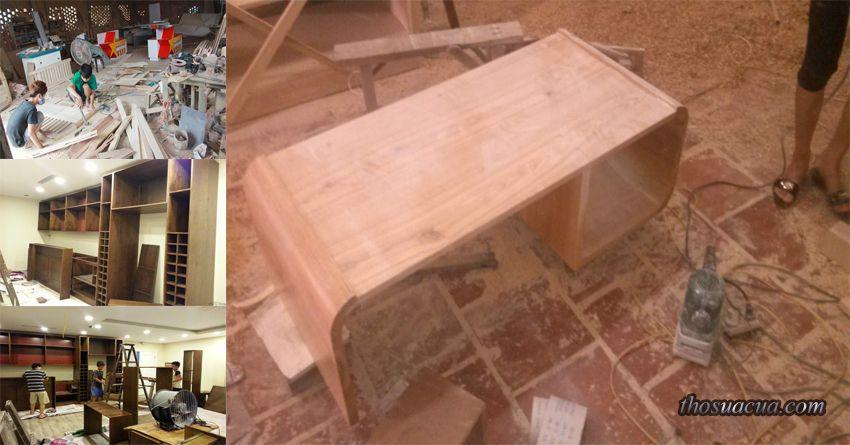 Sửa chữa đồ gỗ tại Gia Lâm