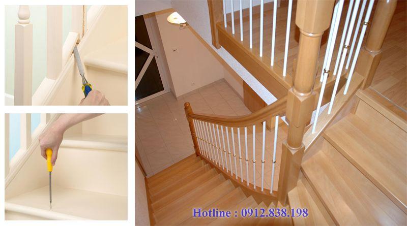 Dịch vụ sửa chữa cầu thang gỗ