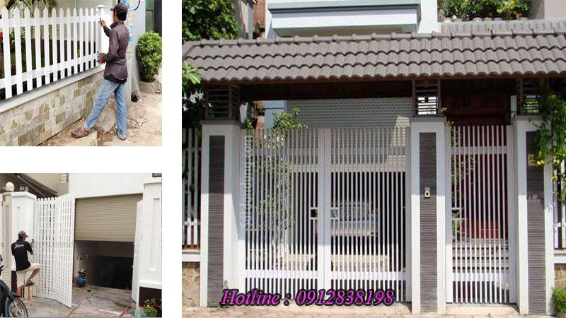 Sơn cửa sắt tại Quận Hoàng Mai