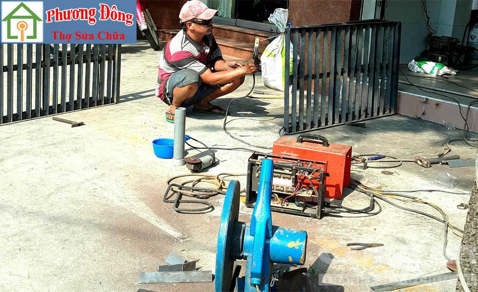 Thợ sửa sửa sắt tại Ba đình