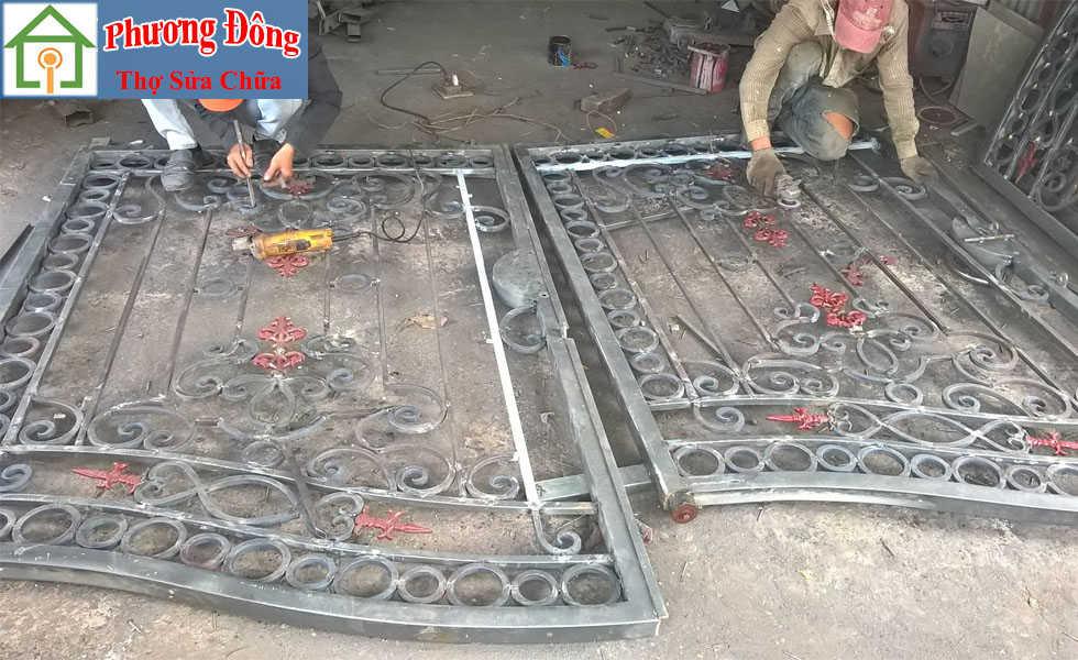 Thợ sơn cửa sắt tại Bắc từ liêm