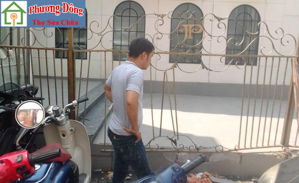 Thợ sửa cửa sắt tại Bắc từ liêm