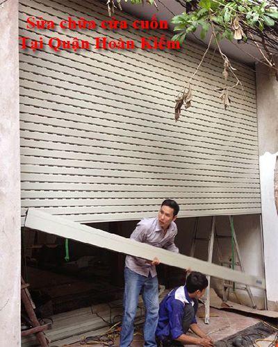 Sửa cửa cuốn tại Hoàn Kiếm