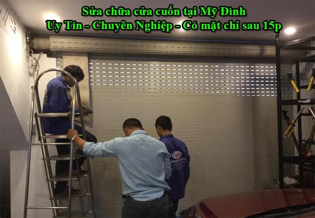 Sửa cửa cuốn tại Mỹ Đình