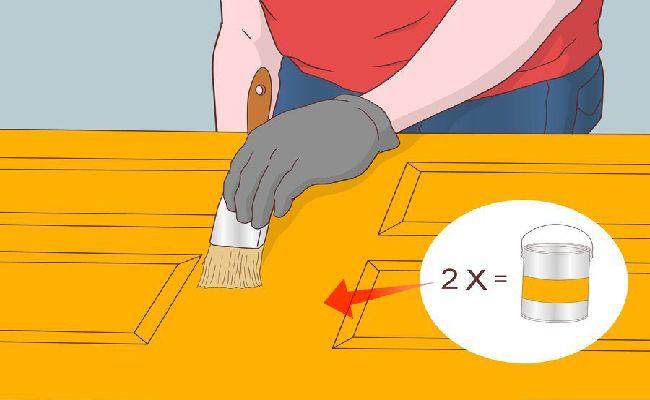 Áp dụng lớp sơn thứ hai