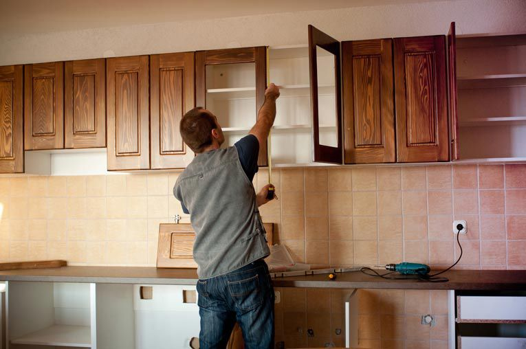 Cách lắp đặt tủ bếp