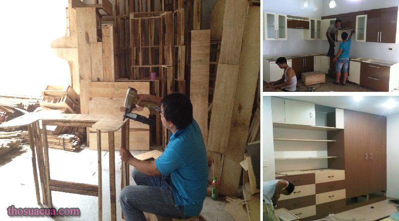 Sửa chữa đồ gỗ quận 1
