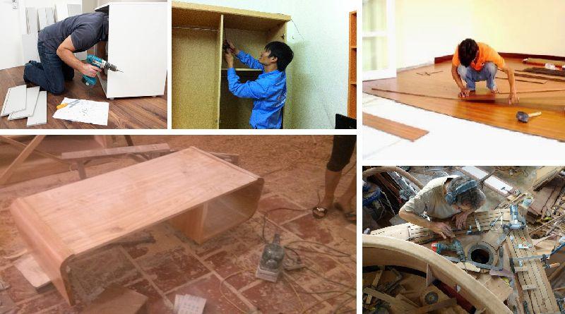 Sửa chữa đồ gỗ quận 2