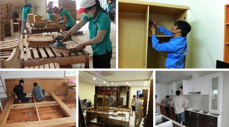 Sửa chữa đồ gỗ tại quận Đống Đa