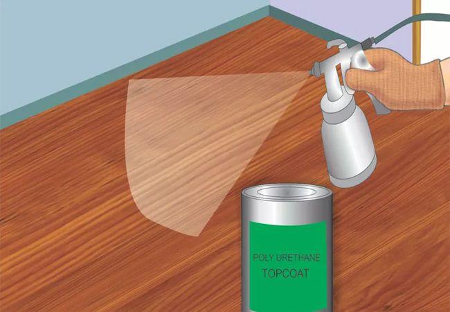 Cách sơn sàn gỗ 3