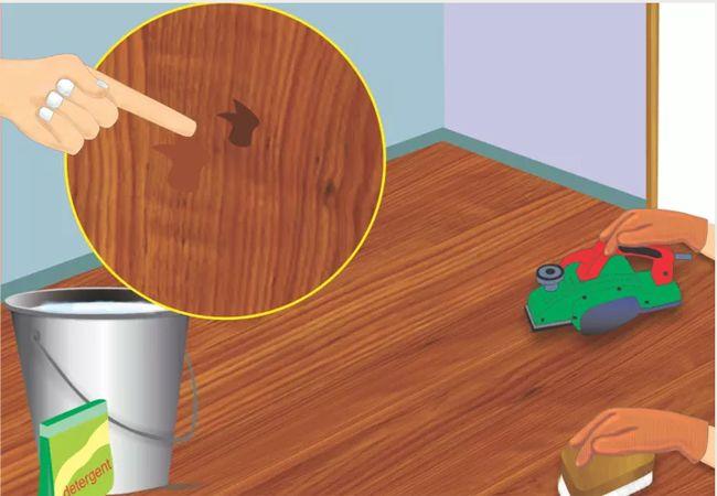 Cách sơn sàn gỗ