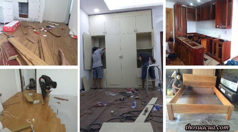 Sửa chữa đồ gỗ quận 4