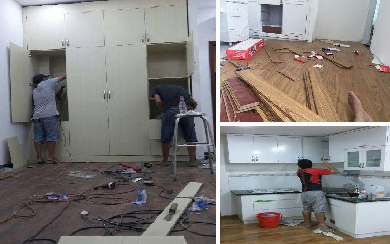 Sửa chữa đồ gỗ quận 7