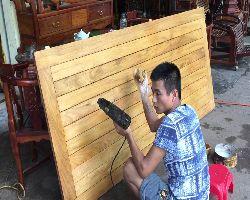Sửa chữa giường gỗ tại nhà nhanh chóng