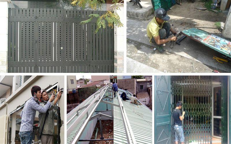 Sửa cửa sắt tại Hà Nội chuyên nghiệp