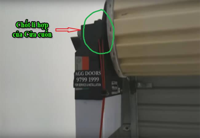 Cách mở cửa cuốn khi mất điện