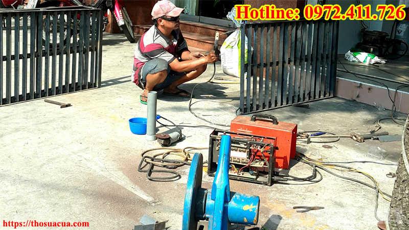 Thợ hàn sắt Tphcm