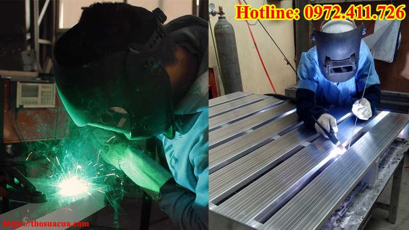 Thợ hàn sắt tại nhà Tphcm