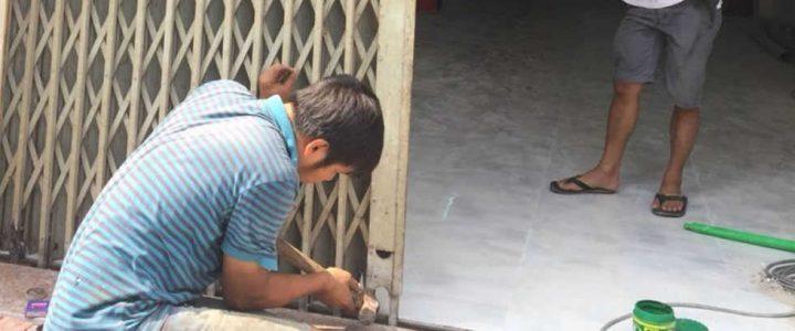 Thợ sơn sửa cửa sắt tại Thanh Xuân giá rẻ nhất