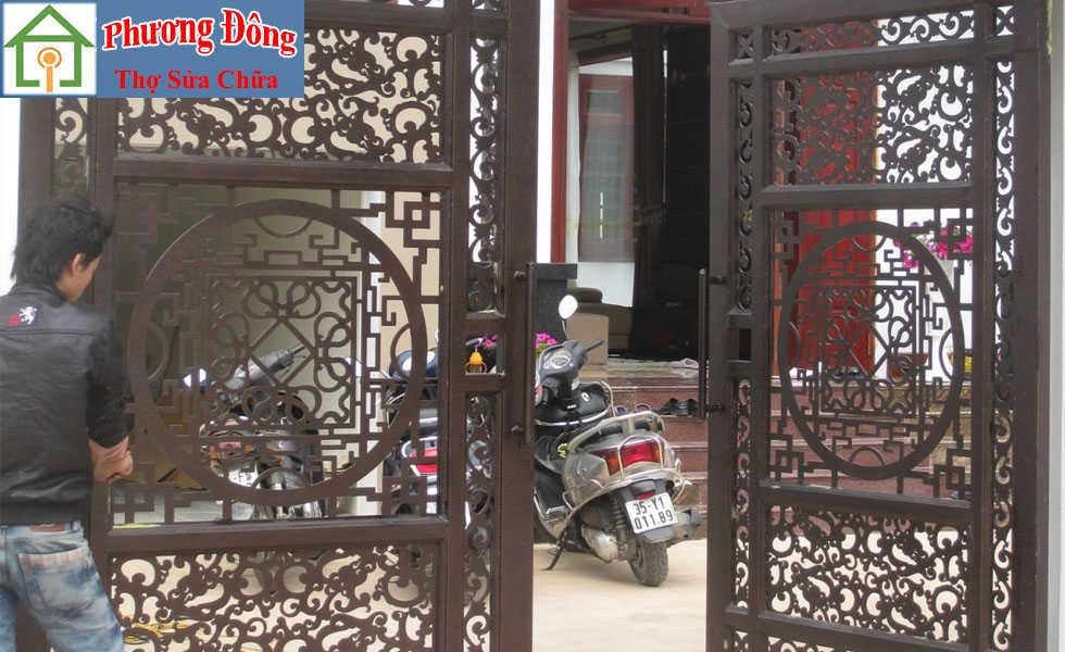 Thợ sơn cửa sắt tại Hà Đông