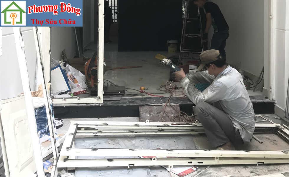 Thợ sửa cửa sắt tại Hà Đông