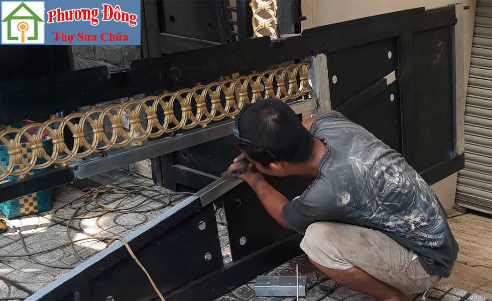 sơn sửa cửa sắt tại Hải Phòng